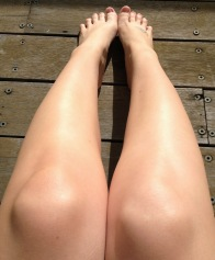 why legs won't tan